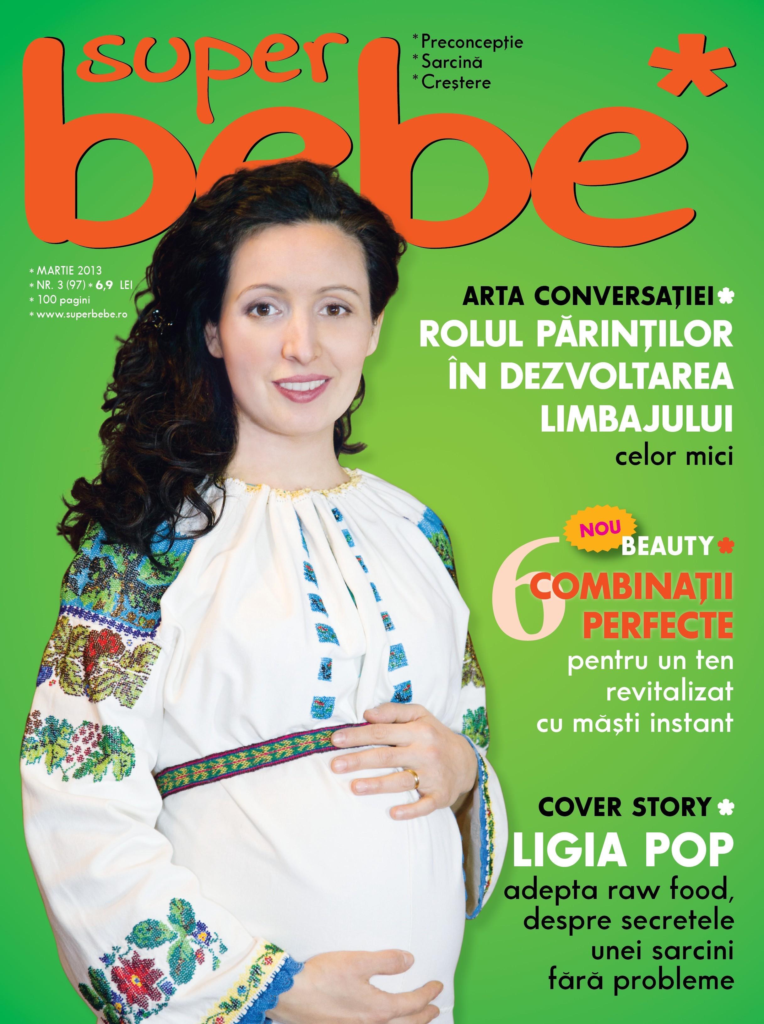 coperta superbebe martie 2013